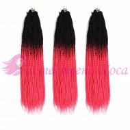 1/тъмно розово - Афро туистъри