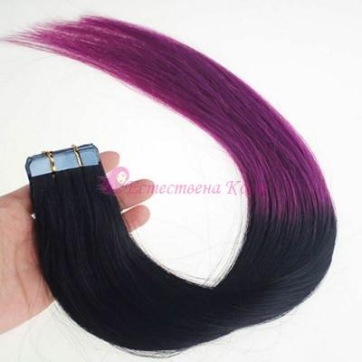 1/Purple - Омбре стикери