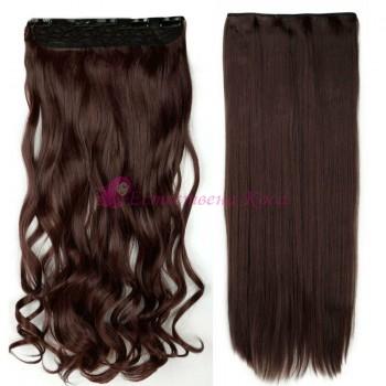 Прави и къдрави изкуствени коси