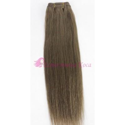 N 10: Естествена коса 45, 50 и 55 см. Широчина на тресата - 80 сантиметра.