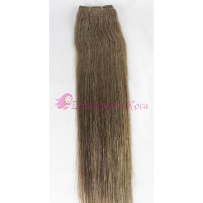 N 12: Естествена коса 45, 50 и 55 см. Широчина на тресата - 80 сантиметра.